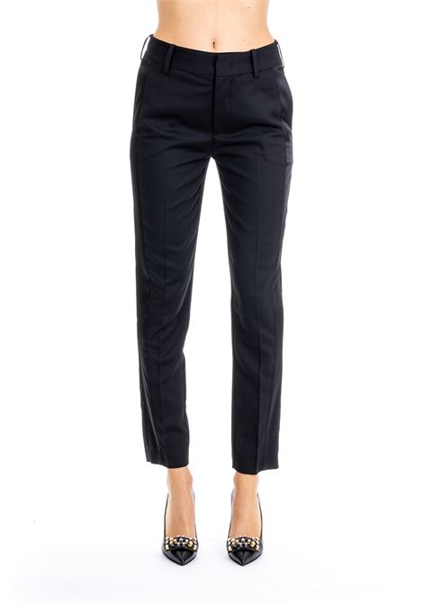 TROUSERS IN POLISHED WOOL PINKO | Pants | EMILIO1B139J7185Z99