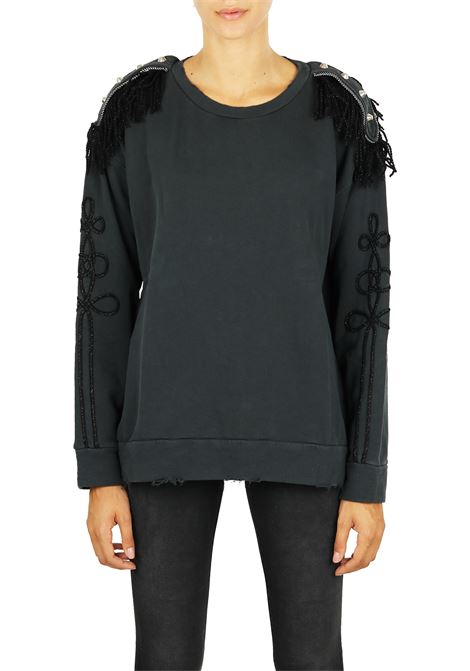 COTTON SWEATSHIRT PINKO | Sweatshirts | ERMELLINO1X106XY4XPZ99