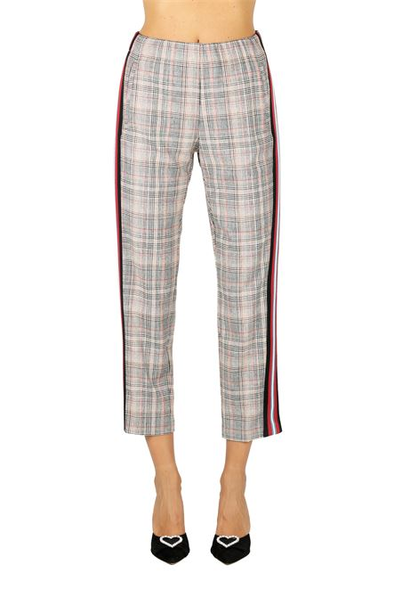 TROUSERS IN THE PRINCE OF WALES PINKO | Pants | MANETTE1G13L17102LZ7