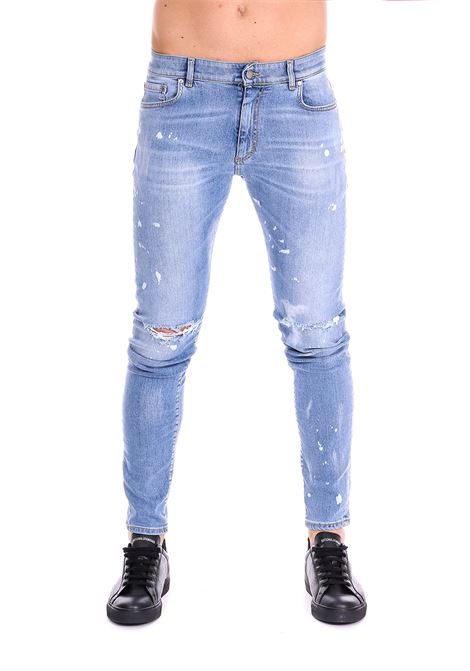 JEANS DESTROYER DENIM BLUE REPRESENT | Jeans | DESTROYERDENIMBLU