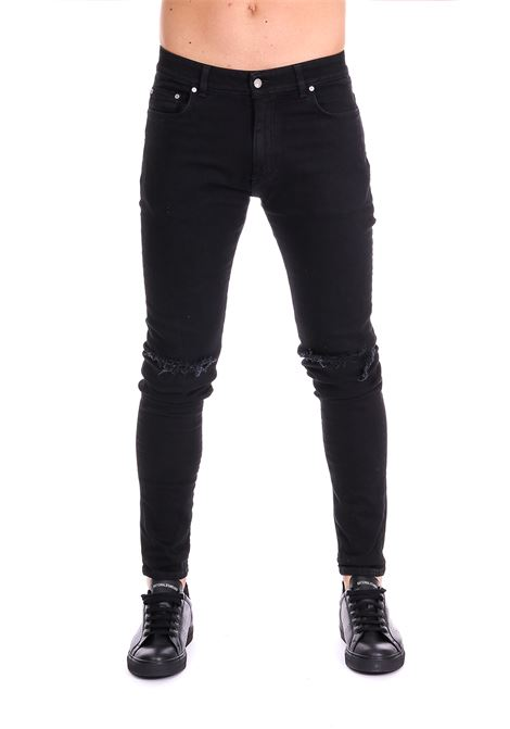 JEANS DESTROYER BLACK DENIM REPRESENT | Jeans | DESTROYERDENIMNERO