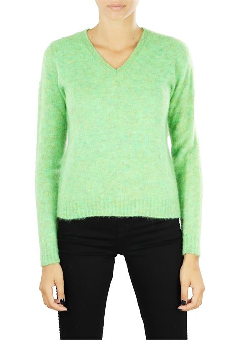 MOHAIR MIXED SWEATER ROBERTO COLLINA | Sweaters | 450024524