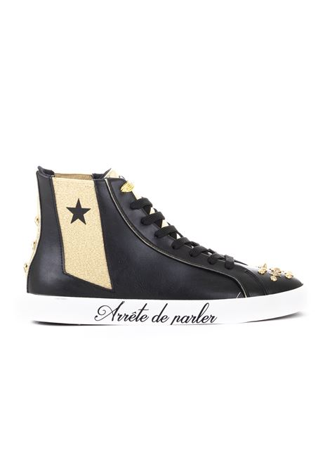LEATHER SNEAKERS SHOP*ART | Sneakers | 18688NNERO/ORO
