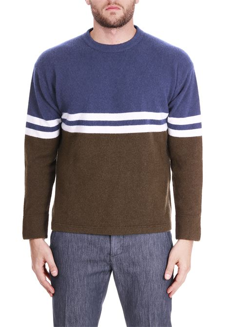 MESHIBLE SWEATER IN CASHMERE SIDE SLOPE | Sweaters | SSL28003E78