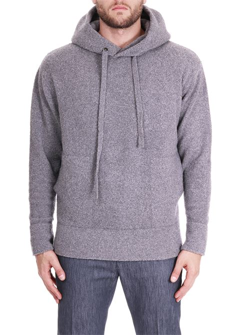 FELPA IN LANA E CASHMERE SIDE SLOPE | Maglie | SSL28012R15
