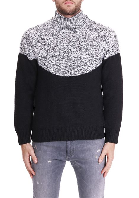 KNIT WITH COLLAR SIDE SLOPE | Sweaters | SSL28042R09