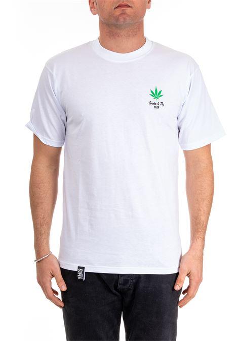 T-SHIRT CON RICAMO VISION OF SUPER | T-shirt | VOS/SFBIANCO