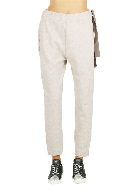 WOOL MIXED TROUSERS UNLABEL | Pants | UDW80009BEIGE