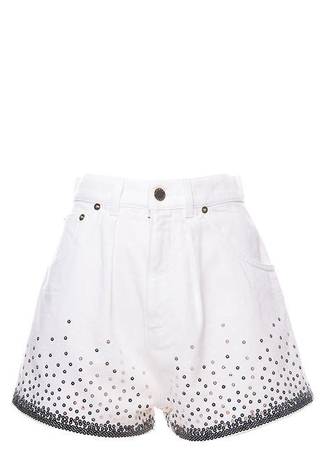WHITE BULL ECO COTTON SHORTS ALBERTA FERRETTI | Shorts | 032616882
