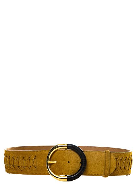 BEIGE BELT IN SUEDE LEATHER ALBERTA FERRETTI | Belts | 3004197466