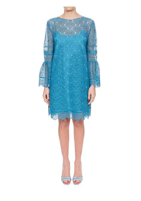 BLUE MACRAME 'DRESS ALBERTA FERRETTI | Dress | 54031631A0327