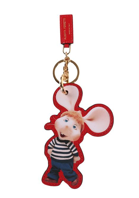 TOPOGIGIO KEYCHAIN ??MODEL IT'S MY YEAR ALBERTA FERRETTI | Key Rings | 85018006116