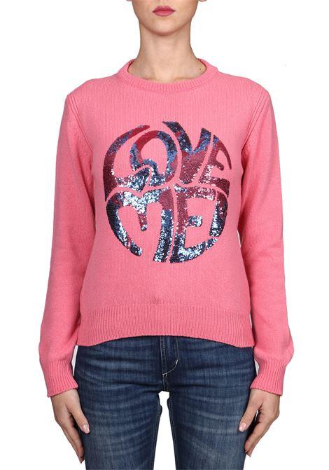 ROSE JERSEY LOVE ME IN CASHMERE ALBERTA FERRETTI | Sweaters | J09441603206