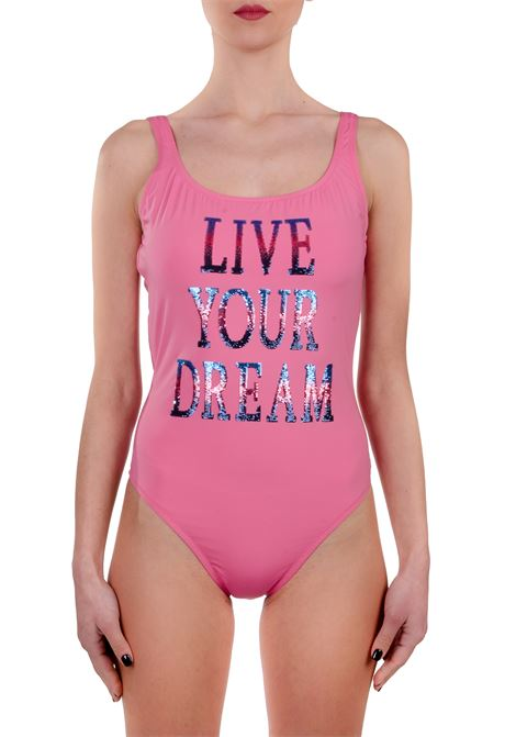 PINK ONE PIECE SWIMSUIT LIVE YOUR DREAM ALBERTA FERRETTI   Swimsuits   J42011692207