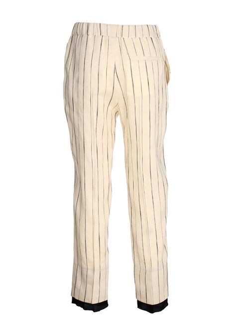 LINEN TROUSERS ALYSI | Pants | 100156P0216PANNA