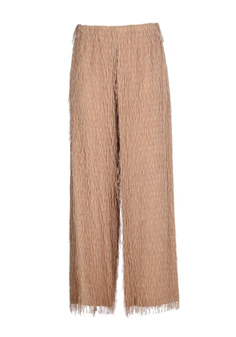FRANGE FIL COUPE TROUSERS ALYSI | Pants | 100161P0229MIELE