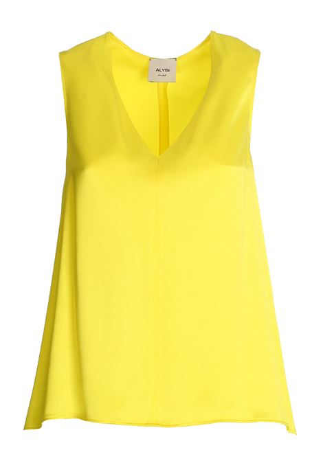 TOP GIALLO IN SATIN ALYSI | Top | 100272P0219LIMONE