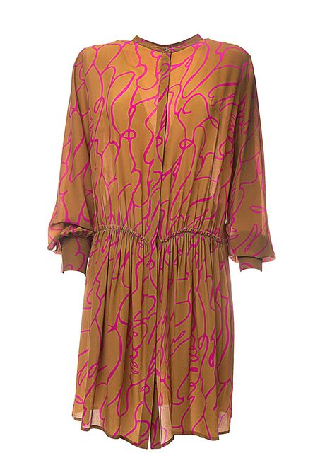 DREAMING DRESS IN SILK ALYSI | Dress | 100353P0023MULTICOLOR