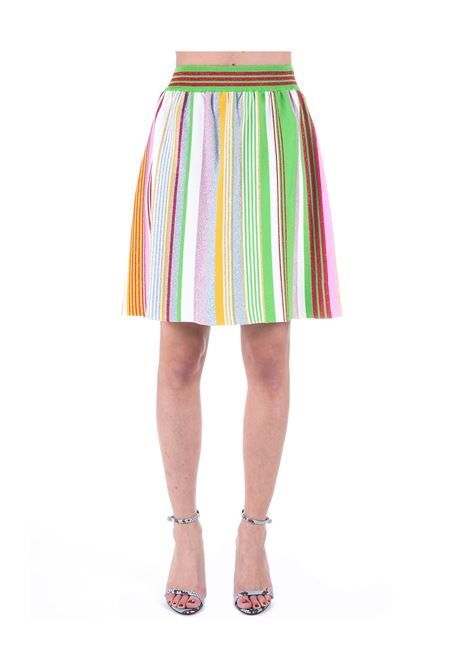 MULTICOLOR SKIRT WITH LUREX DETAIL BOUTIQUE MOSCHINO | Skirts | 018008020888