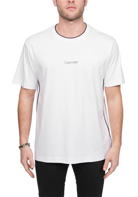 COMPACT SMALL LOGO WHITE T-SHIRT CALVIN KLEIN | T-shirt | K10K105178OK4
