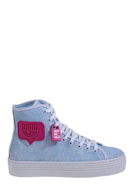 LIGHT BLUE EYELIKE SNEAKERS CHIARA FERRAGNI | Sneakers | CF2609AZZURRO