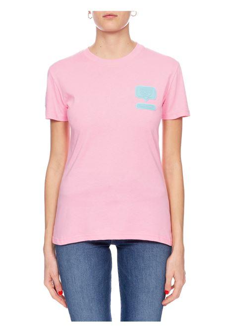 T-SHIRT EYELIKE ROSA CHIARA FERRAGNI | T-shirt | CFT095ROSA