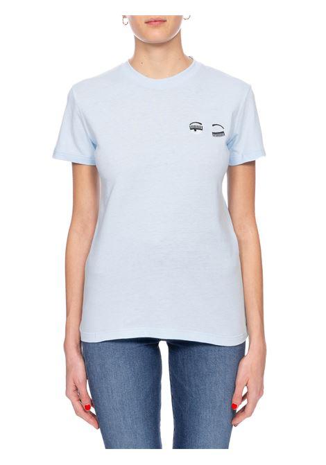 T-SHIRT AZZURRA FLIRTING CHIARA FERRAGNI | T-shirt | CFT100AZZURRO