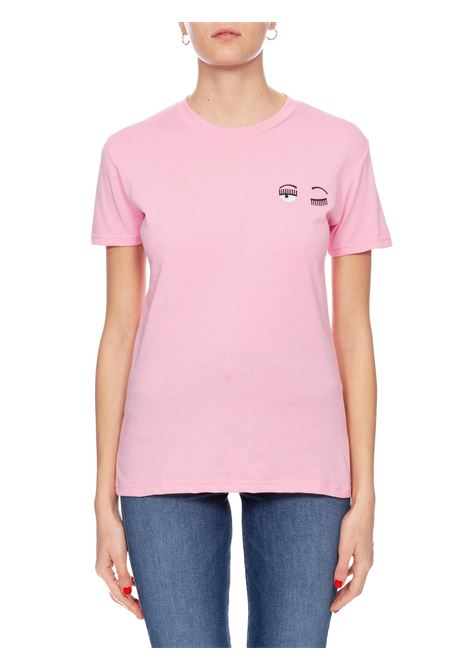 T-SHIRT ROSA FLIRTING CHIARA FERRAGNI | T-shirt | CFT100ROSA