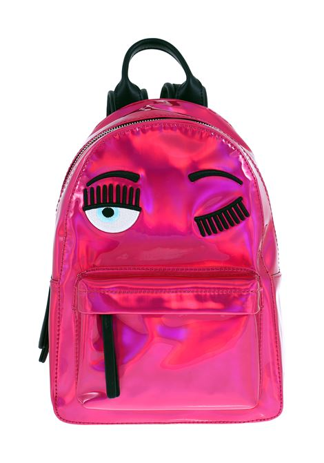 SMALL FUCSIA  FLIRTING BACKPACK CHIARA FERRAGNI | Backpacks | CFZ069ROSA