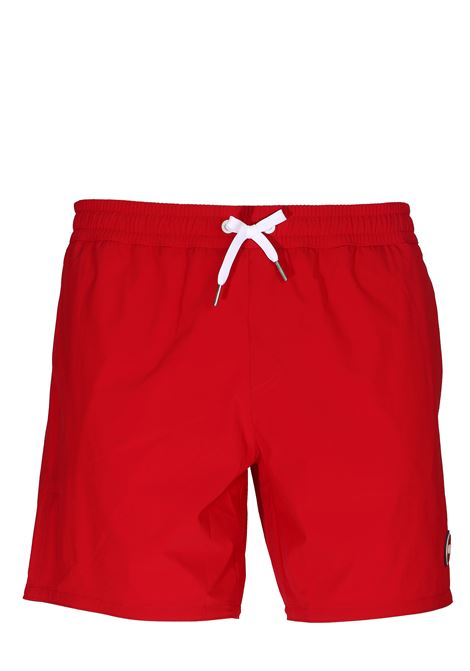 RED SEA SHORTS WITH FRONT LOGO APPLICATION COLMAR | Swimsuits | 7248ASTRONOMICAL9UR193