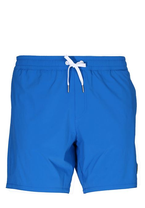 COBALT SEA SHORTS WITH FRONT LOGO APPLICATION COLMAR | Swimsuits | 7248ASTRONOMICAL9UR458