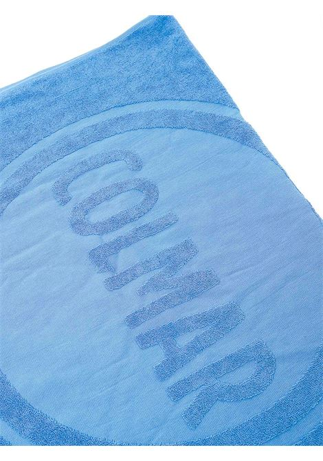 COBALT BEACH TOWEL IN COTTON WITH LOGO EMBROIDERY COLMAR |  | 7450SUMMERTIME458