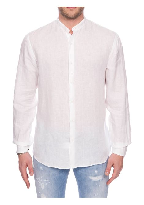 WHITE LINEN SHIRT COSTUMEIN | Shirts | O24DOMENICOCORFU'NATURA