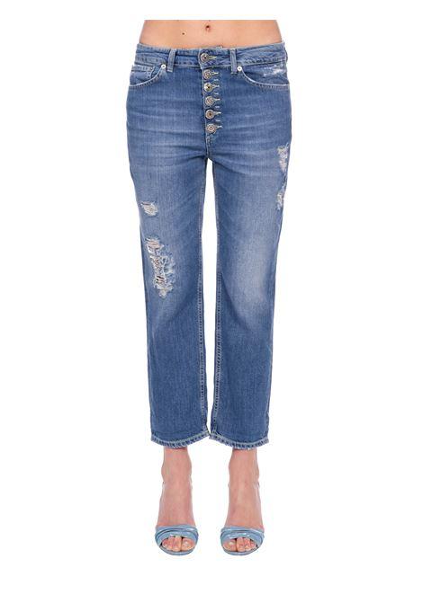 DESTROYED KOONS JEANS DONDUP | Jeans | DP268BDF0232AC4DDSS20800