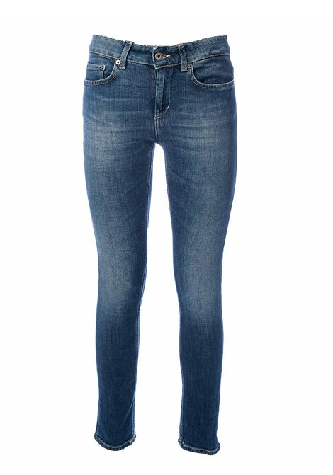 MONROE SKINNY FIT COTTON JEANS DONDUP | Jeans | P692DS0268AB5DDS20800
