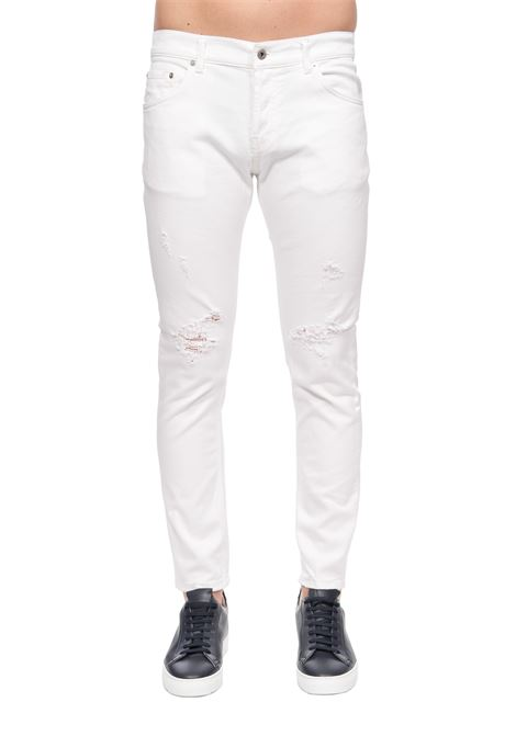JEANS BIANCO MIUS SLIM FIT DONDUP | Jeans | UP168BS0009AF9DUS20000