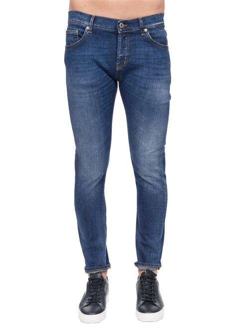 JEANS MIUS SLIM FIT IN COTONE DONDUP | Jeans | UP168DS0145AB4DUS20800