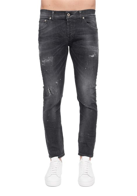 MIUS SLIM FIT GRAY JEANS DONDUP | Jeans | UP168DSE250AA2DUS20999