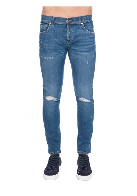 JEANS MIUS IN DENIM DI COTONE DONDUP | Jeans | UP168DSE270EA5DUS20800