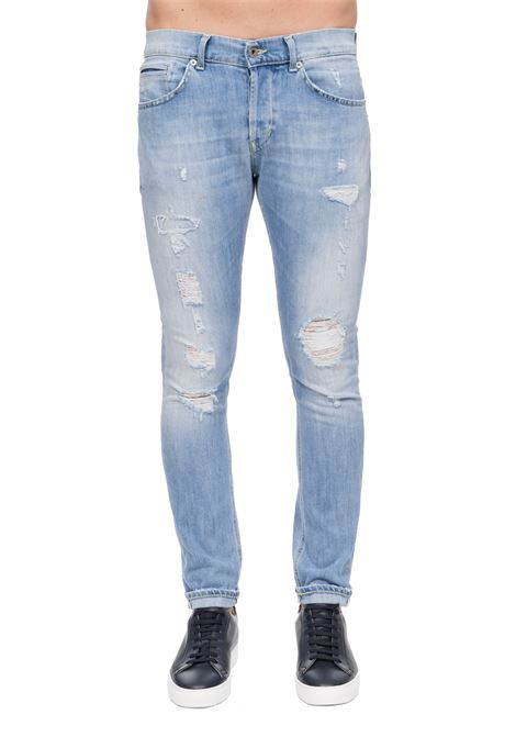 JEANS GEORGE SKINNY FIT IN COTONE DONDUP | Jeans | UP232DS0107AA8DUS20800
