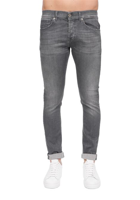 GRAY GEORGE SKINNY FIT JEANS DONDUP | Jeans | UP232DSE251AE6DUS20900