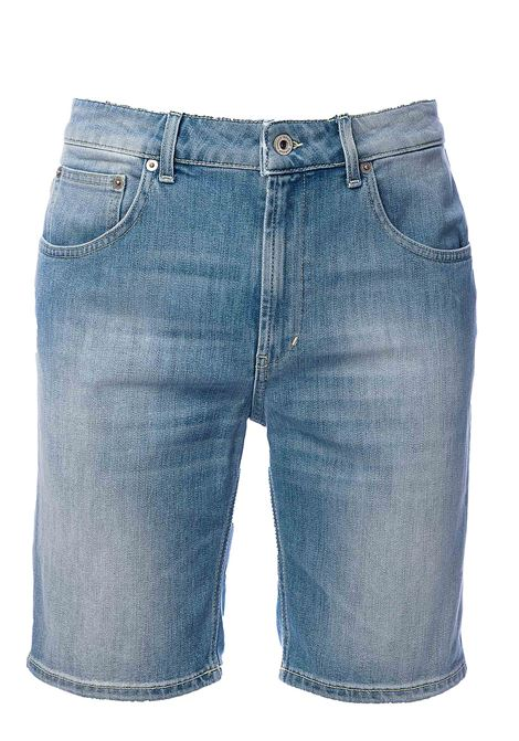 BERMUDA JEANS DERICK REGULAR FIT IN COTONE DONDUP | Bermuda | UP454DS0107UAA9DU800