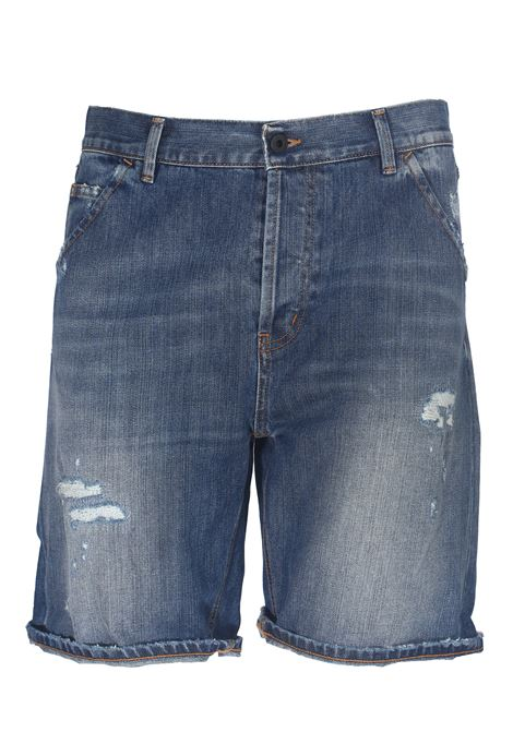 SHORTS JULYAN IN DENIM DI COTONE DONDUP | Bermuda | UP542DF0023AC2DUS20800