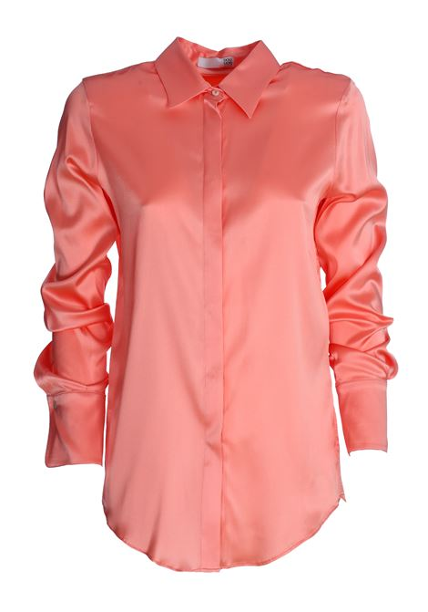 ALICE SATIN PINK SHIRT IN SILK DOU DOU | Shirts | 20SMDDCW000027021