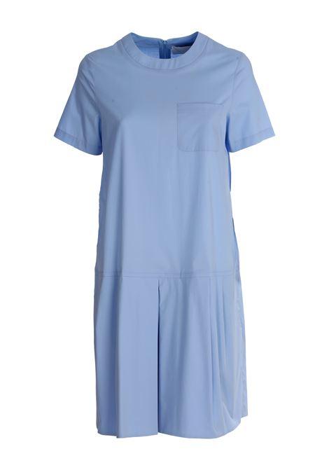 LUCILLE LIGHT BLUE COTTON DRESS DOU DOU | Dress | 20SMDDDW000038025