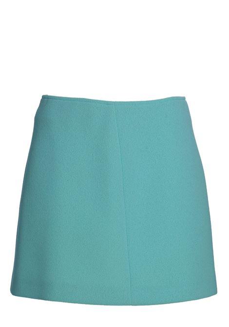 LIGHT BLUE SKIRT NEOPRENE CREPE DOU DOU | Skirts | 20SMDDEW000078027