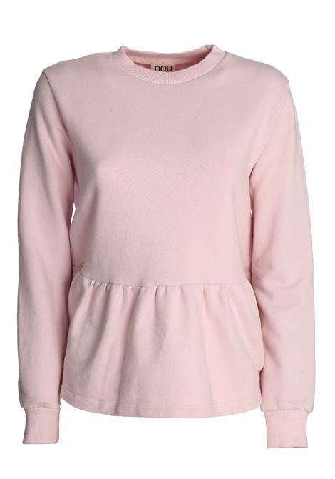 BEATRICE PINK COTTON SWEATSHIRT DOU DOU | Sweatshirts | 20SMDDFW000027027