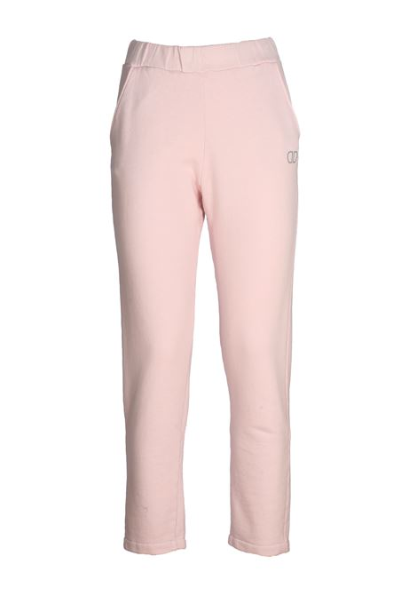 PINK COTTON JUMPSUIT PANTS DOU DOU | Pants | 20SMDDPW000017027