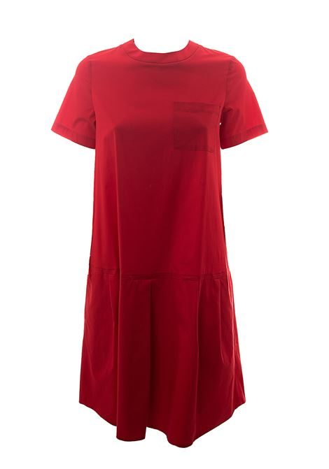 CORAL COTTON DRESS MODEL LUCILLE POP DOU DOU   Dress   LUCILLEDDDW000037025