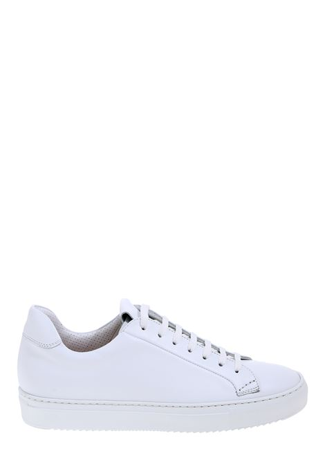 WHITE PLUME LEATHER SNEAKERS DUCA DI WELLS | Sneakers | NU2230ERICUV055IW00BIANCO